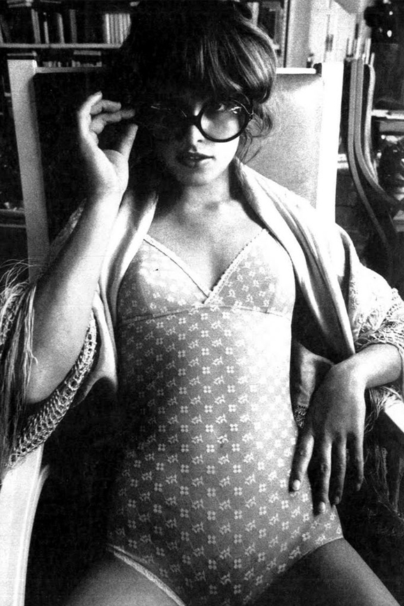 Uschi Obermaier by Jeanloup-Sieff for Vogue Italia, 1972.